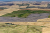 Patterns in the land viewed from Steptoe Butte, Washington