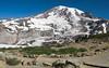 Above the meadows on Mt Rainier